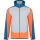 Dare 2b Appertain Softshell Jacket Men Pumpkin Orange/Kingfisher Blue/Ash Grey Marl